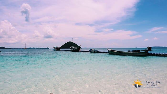 น้ำทะเลที่บานาน่าบีช ใสมากๆ
