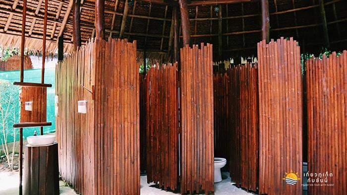 ห้องน้ำที่บานาน่าบีช