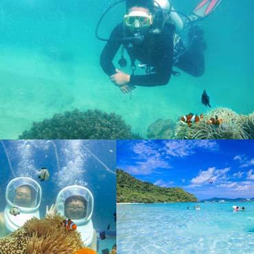ดำน้ำเกาะเฮ ทริปดำน้ำตื้นเกาะเฮ 1