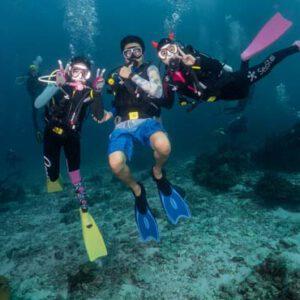 โปรแกรมไดฟ์วิ่ง 2 วัน 1 คืน นอนเรือคูน1 (Fun Dive) กับ SeaStar